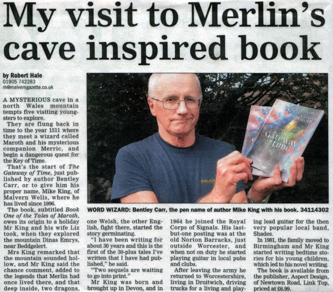Malvern Gazette article image